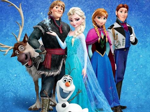 frozen cast
