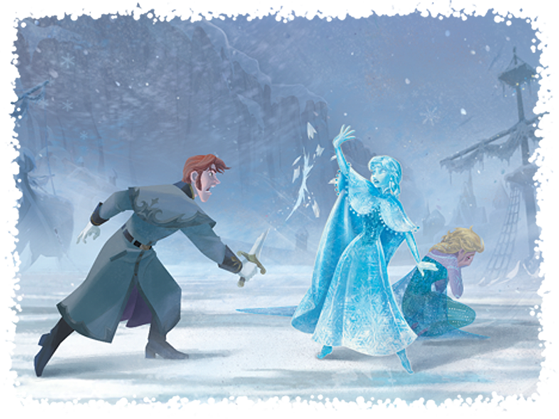 The Shapeshifting Snow Queen And All Things Frozen